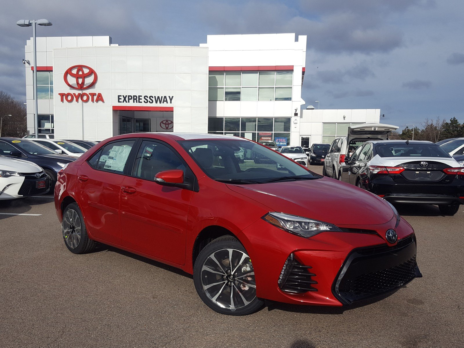 New 2019 Toyota Corolla Xse 4dr Car In Boston 23705 Expressway Toyota