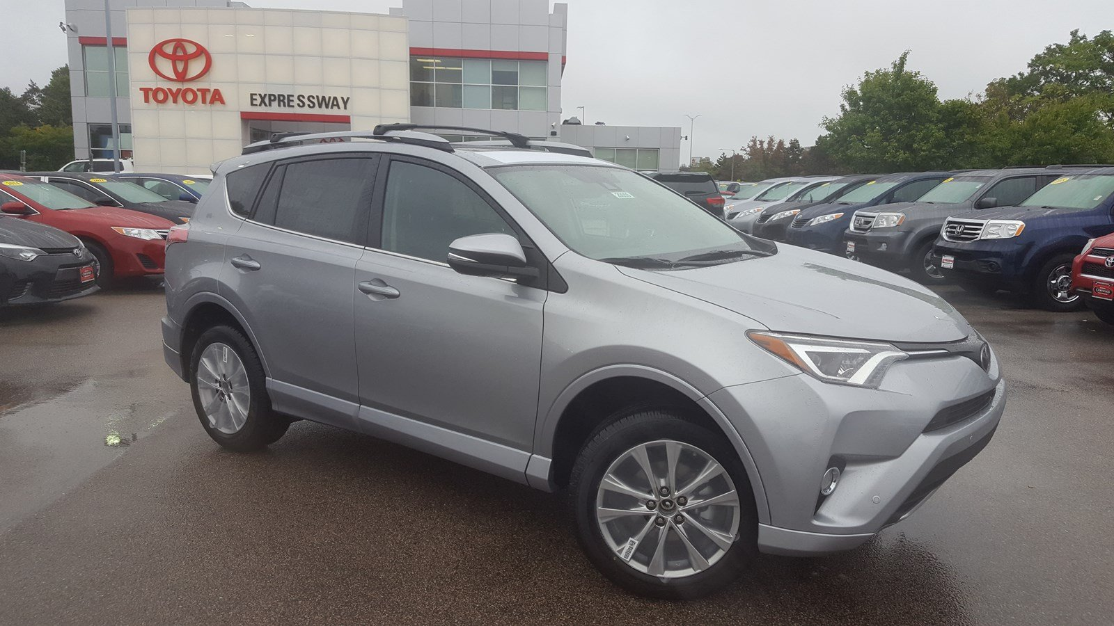 New 2018 Toyota Rav4 Platinum Sport Utility In Boston
