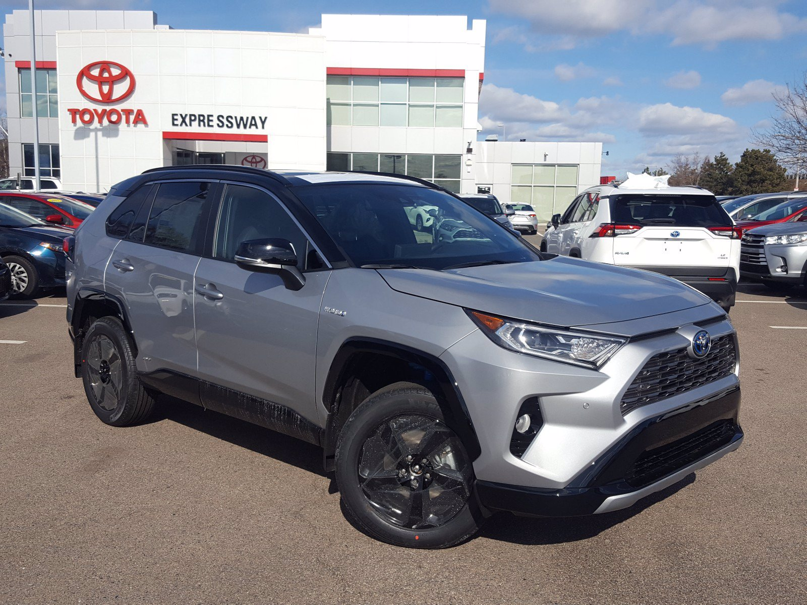 New 2020 Toyota Rav4 Hybrid Xse Sport Utility 38 352 In Boston