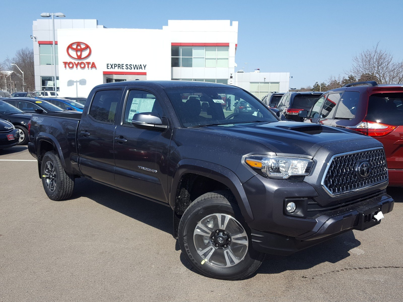 Double Cab Long Bed New 2019 Toyota Tacoma 4wd Trd Sport