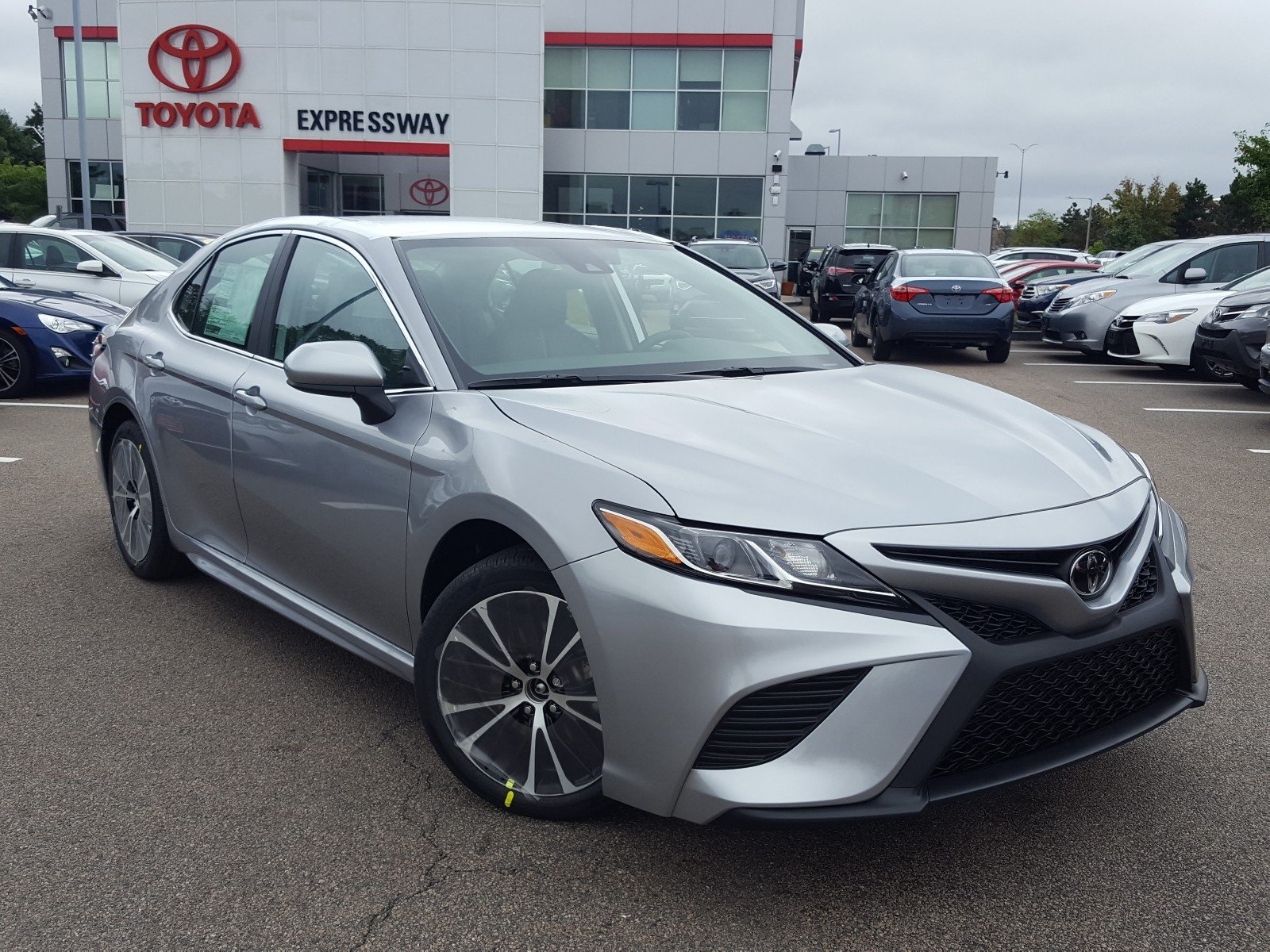 New 2019 Toyota Camry Se 4dr Car In Boston 24235 Expressway Toyota