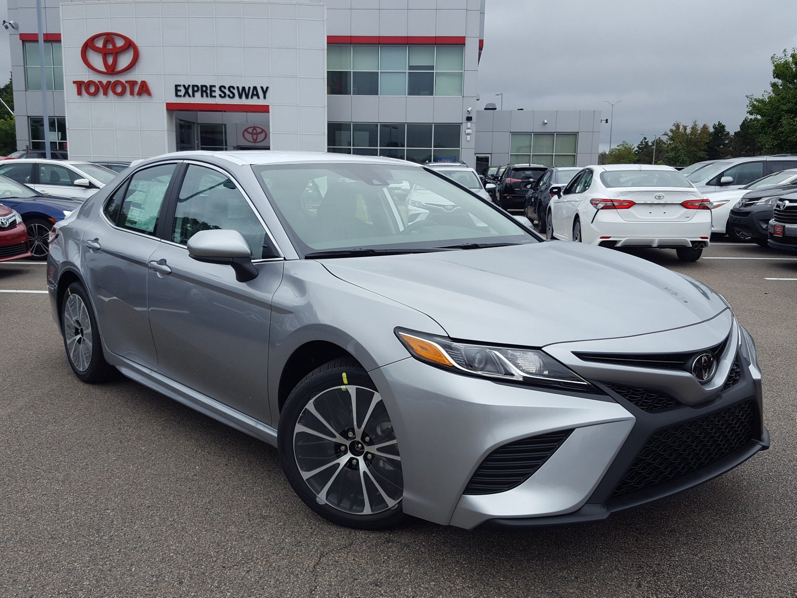 New 2019 Toyota Camry Se 4dr Car In Boston 24236 Expressway Toyota