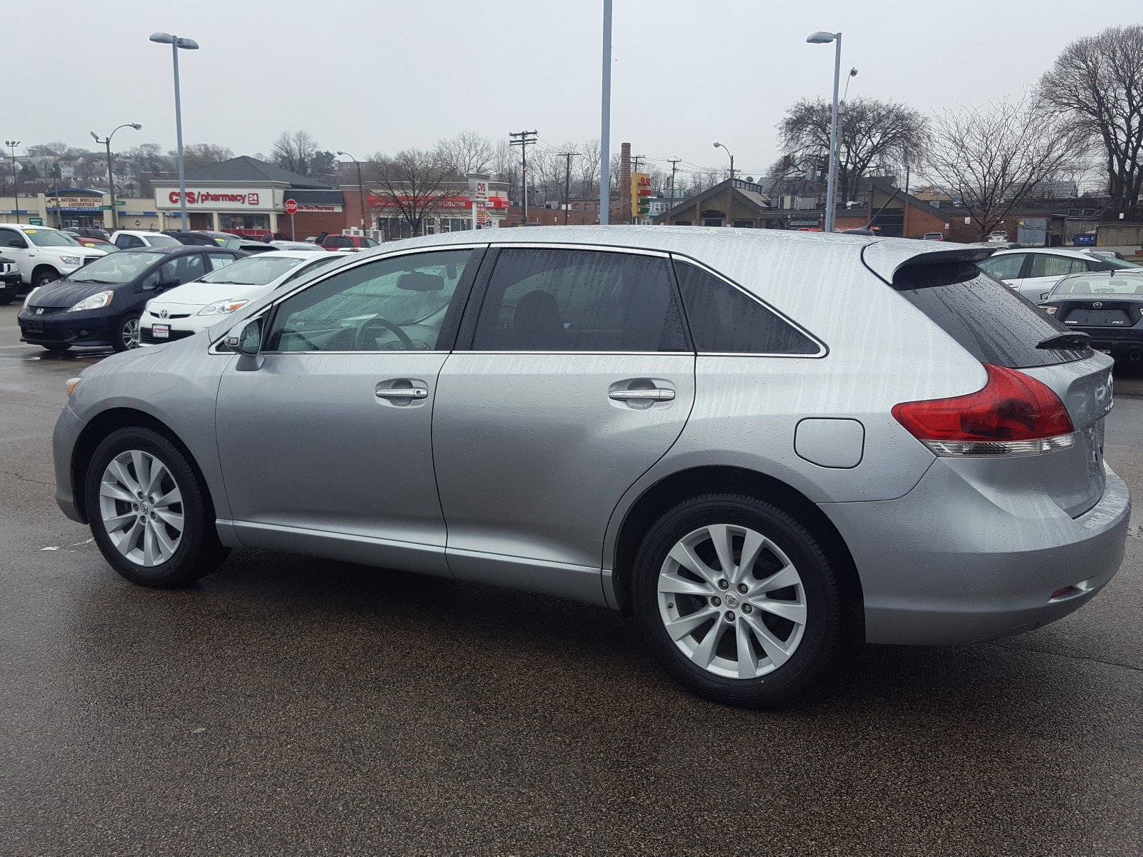 Certified Pre Owned 2015 Toyota Venza Xle Sport Utility In
