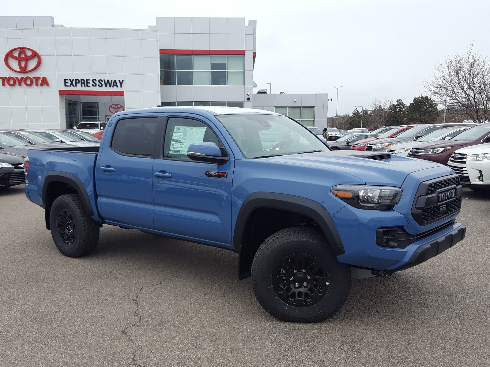New 2018 Toyota Tacoma Trd Pro Double Cab In Boston 21930