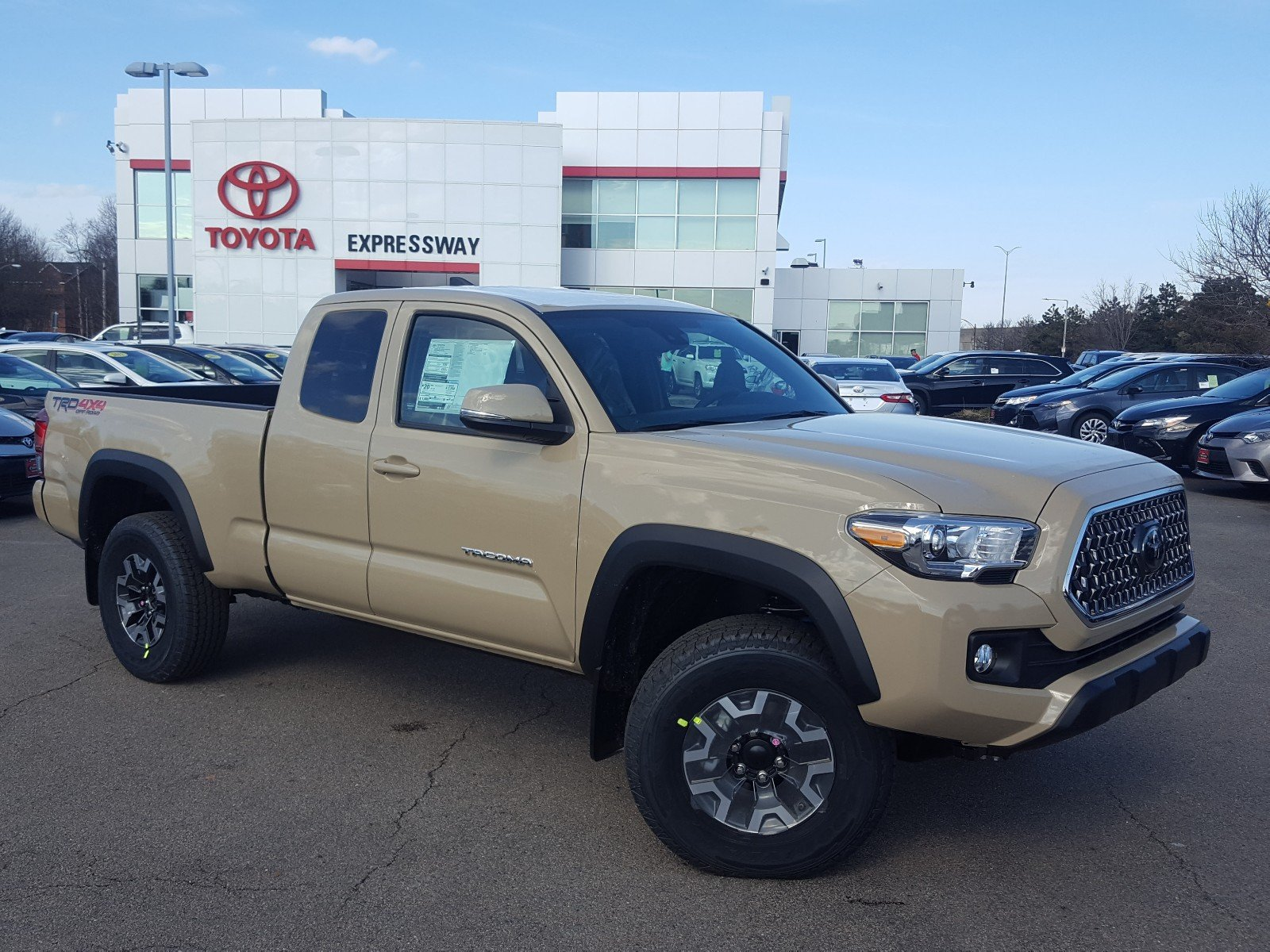 New 2018 Toyota Tacoma Trd Off Road 4x4 Access Cab Pickup