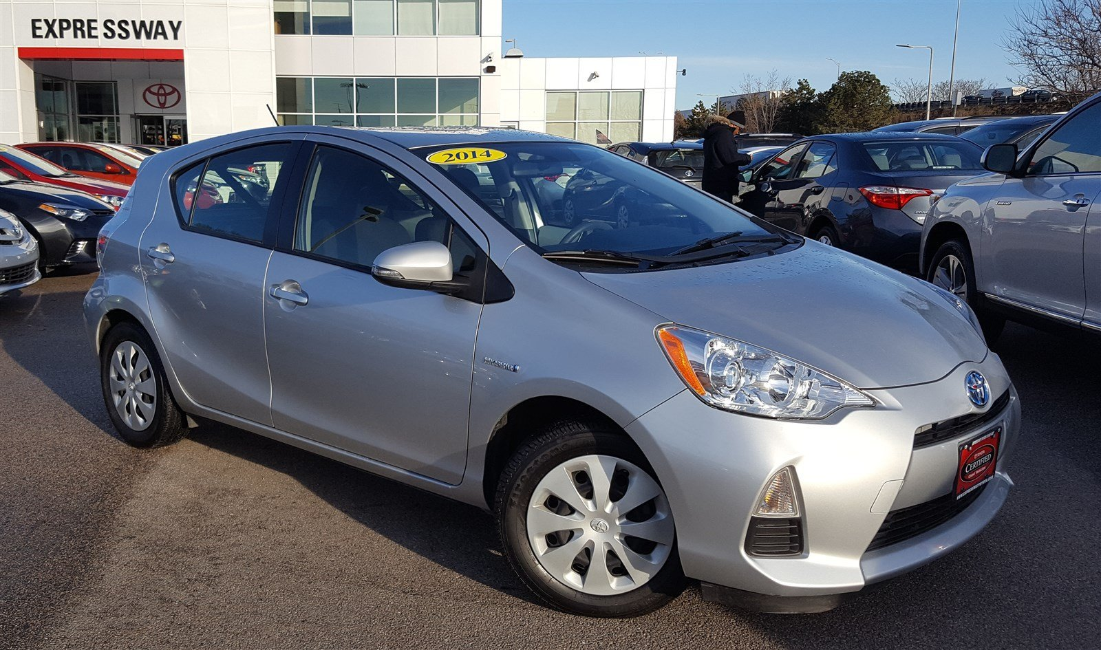 certified pre owned 2014 toyota prius c two hatchback in. Black Bedroom Furniture Sets. Home Design Ideas