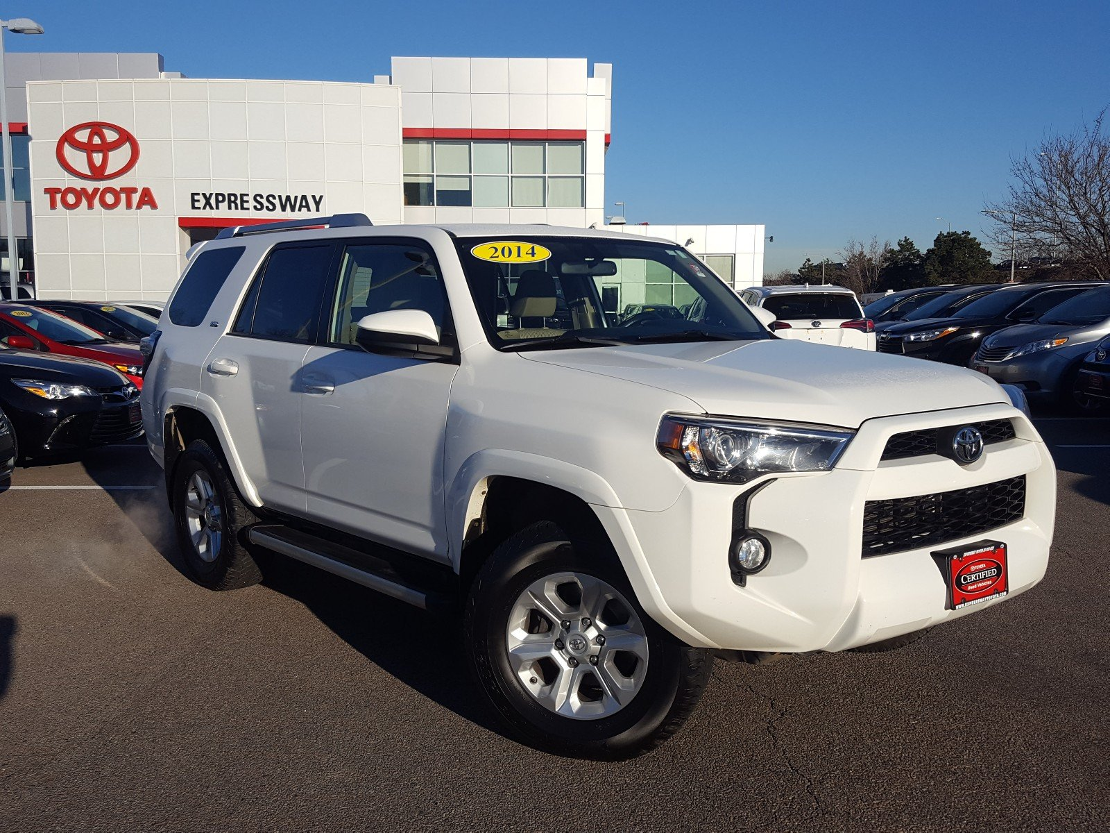 certified pre-owned 2014 toyota 4runner sr5 sport utility $31,950 in