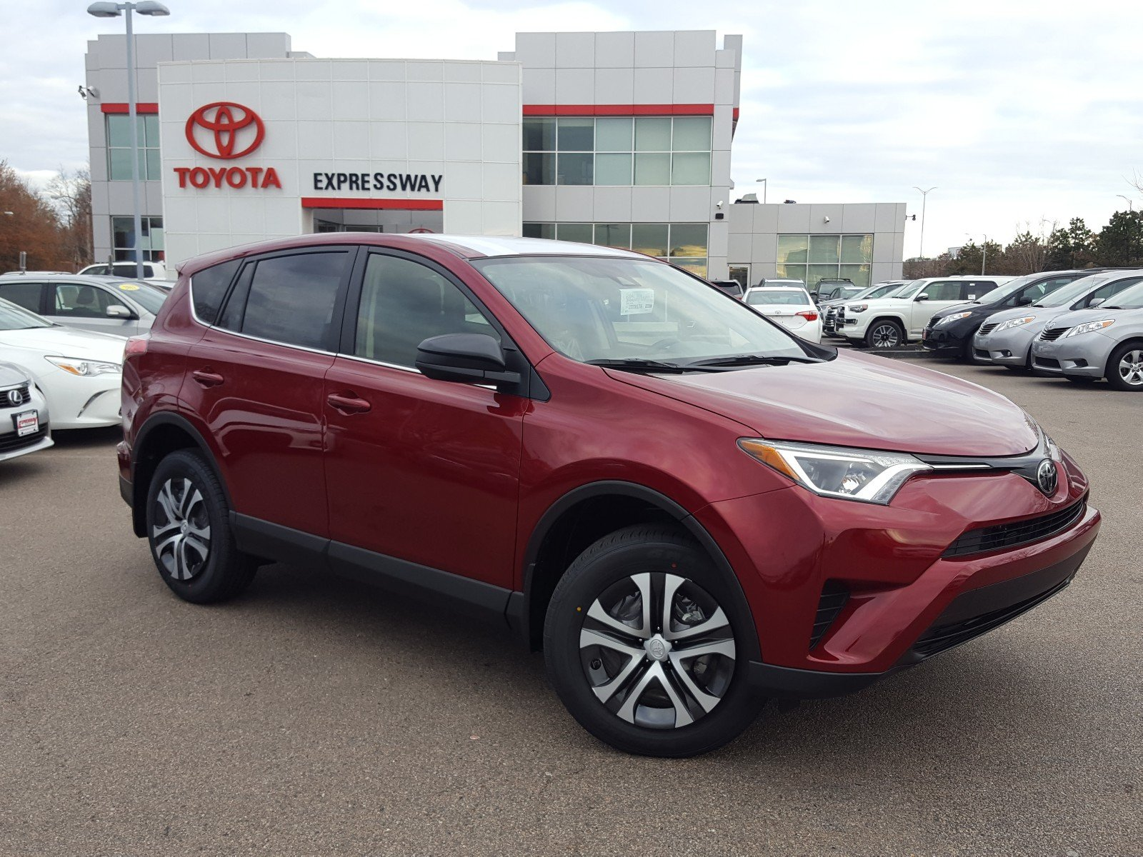 New 2018 Toyota RAV4 LE Sport Utility in Boston