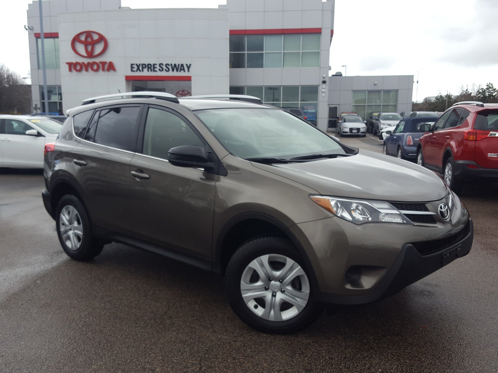 Certified Pre Owned 2015 Toyota RAV4 LE AWD