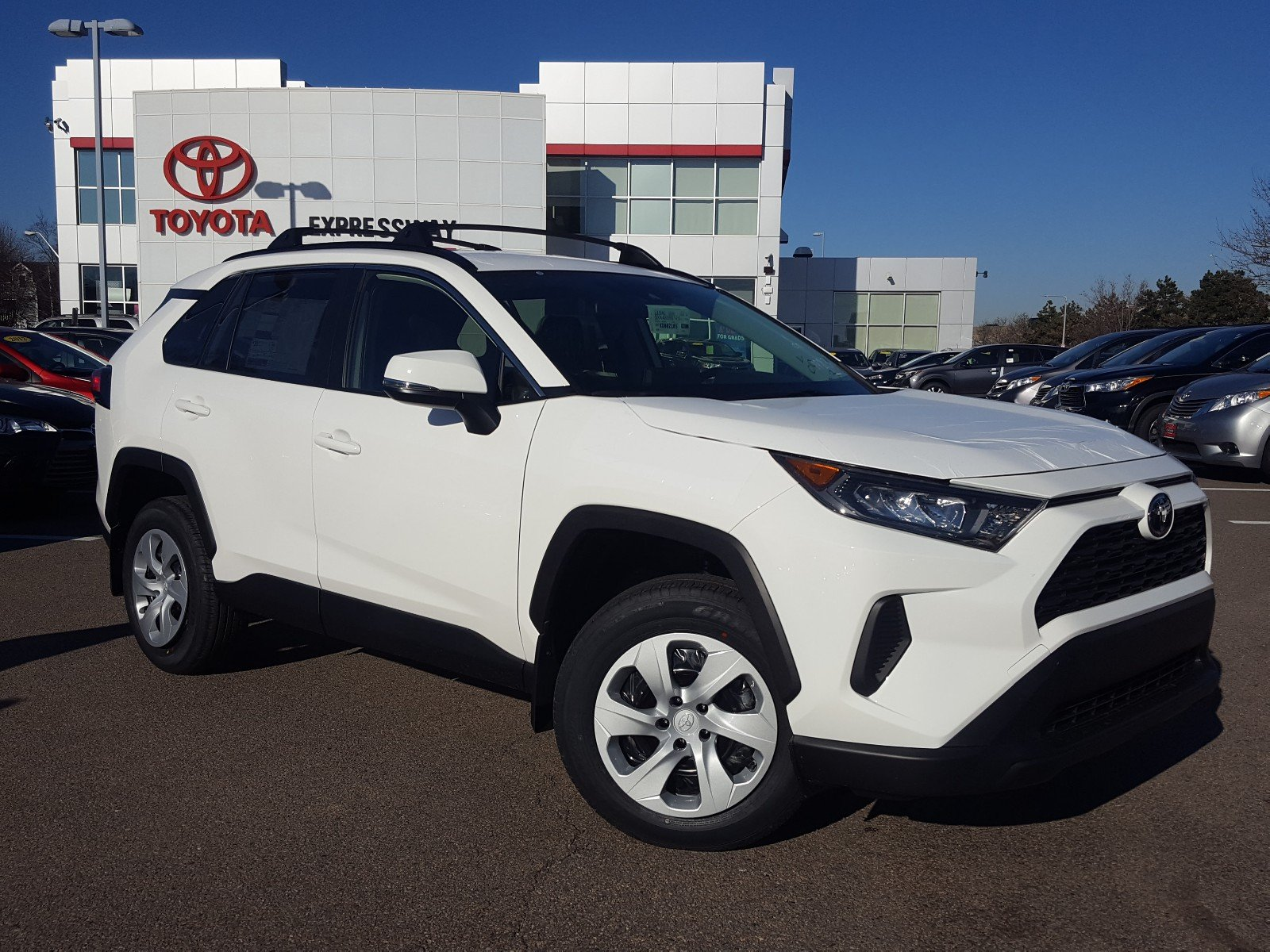 New 2019 Toyota Rav4 Le Sport Utility In Boston 23752 Expressway