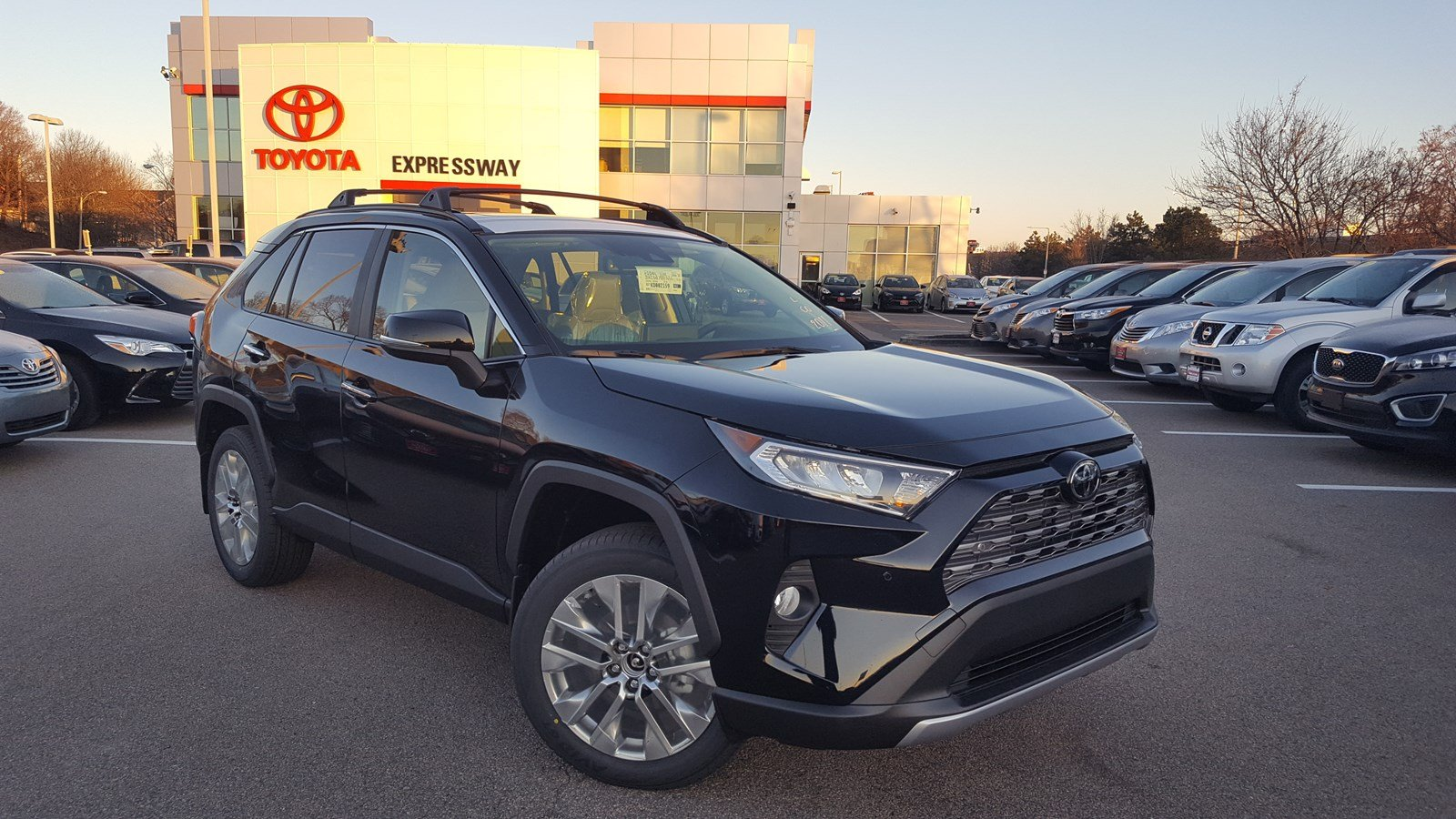 New 2019 Toyota Rav4 Limited Sport Utility In Boston 23750