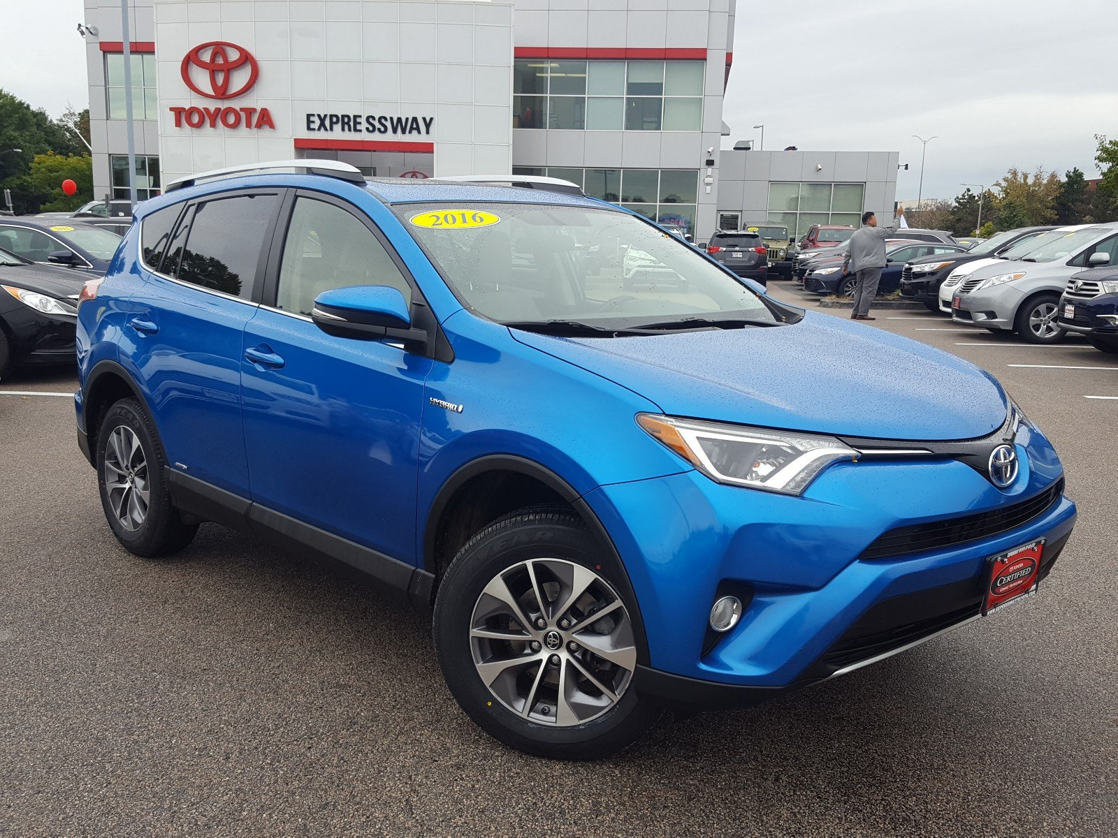 Certified Pre Owned 2016 Toyota Rav4 Hybrid Xle