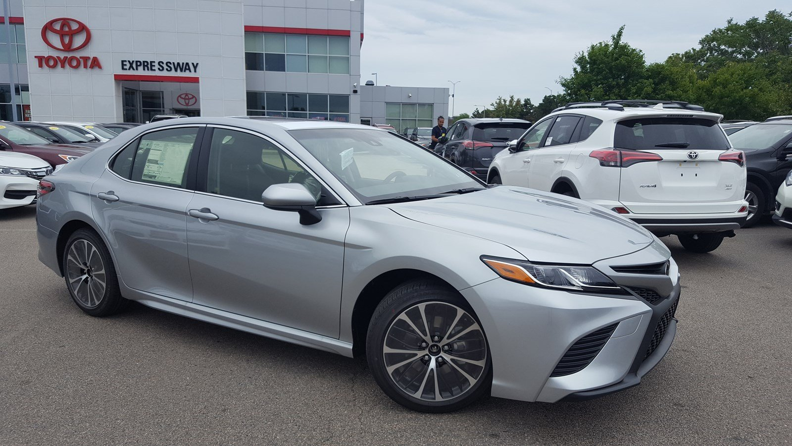 New 2018 Toyota Camry Se 4dr Car In Boston 19598