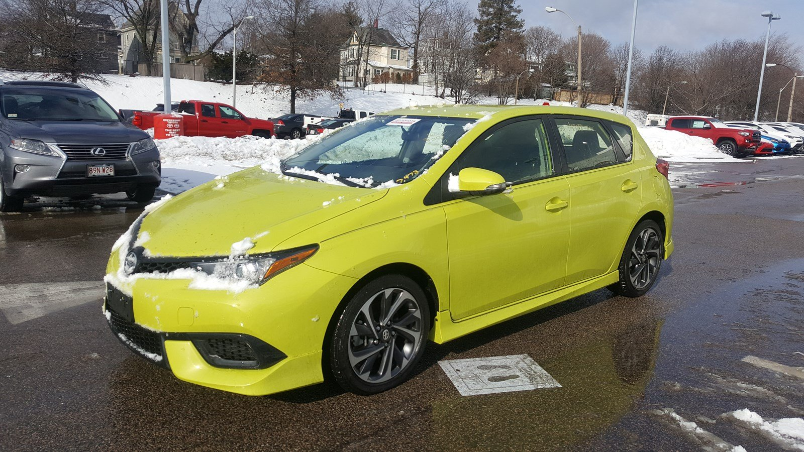 Certified Pre Owned 2016 Scion Im Base Hatchback In Boston